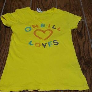 Oneill girls size S tshirt